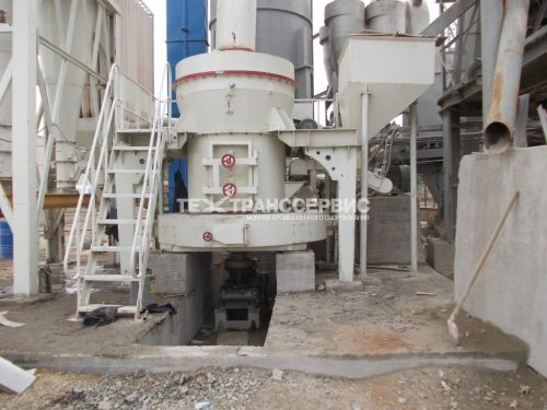 Монтаж мельничного оборудования