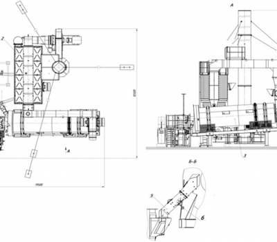Ремонт сушильного агрегата АБЗ