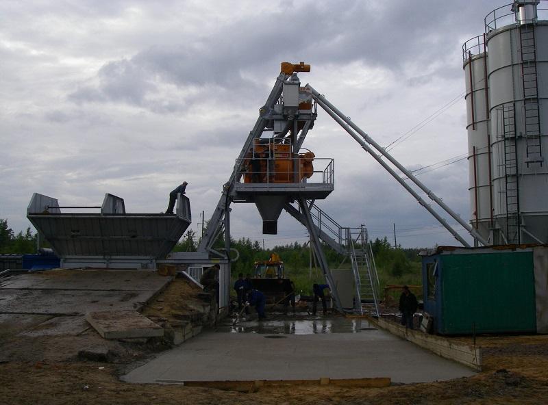 ремонт бетон завода